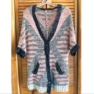Moth Anthropologie Cacoon Knit Cardigan Sweater